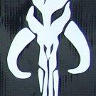 Boba Fett chest logo sticker