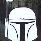 Boba Fett helmet sticker