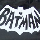 Classic Batman logo sticker