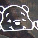 Winnie the Pooh peeking Sticker