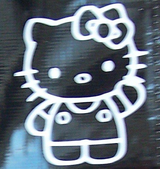 Hello Kitty Vinyl Decal