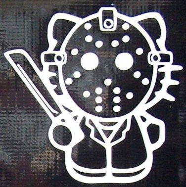 Hello Kitty Jason Vorhees