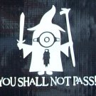 Harry Potter Minion: You shall not pass