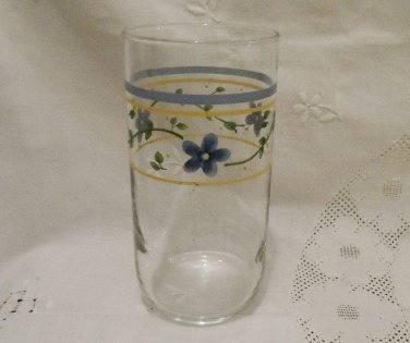 Corning Tumbler Simply Spring Pattern EUC by Libbey