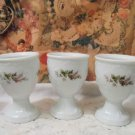 Rosenthal Continental Egg Cups Victoria Rose Germany Set of 3
