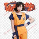 Dragon Ball Z GoKu Letter GUI Cosplay Costume Fancy Party clothing Top+Pants+Belt+Wrist Band