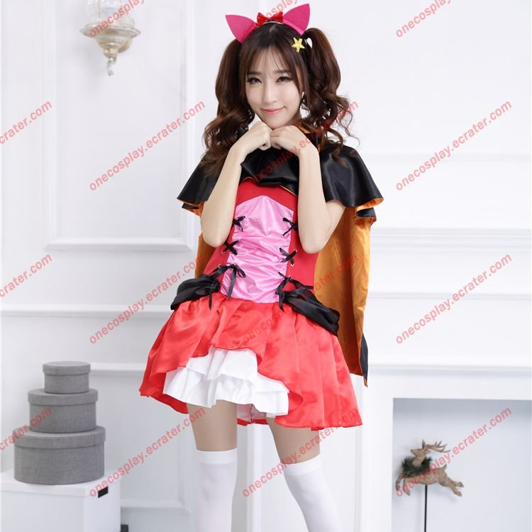 Love Live! School idol project Dress Yazawa Nico Catwoman Halloween Cosplay Costumes Devil Clothes