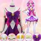 LOL The Lady Of Luminosity Lux Cosplay Costumes Sailor Moon / Puella Magi Madoka Magica Dress