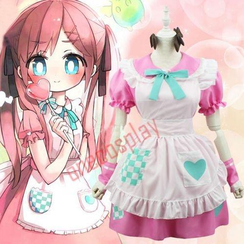 APH Axis Powers Hetalia UK Rosa Kirkland Cosplay Costumes Kawaii Women Fancy Lolita Maid Dress