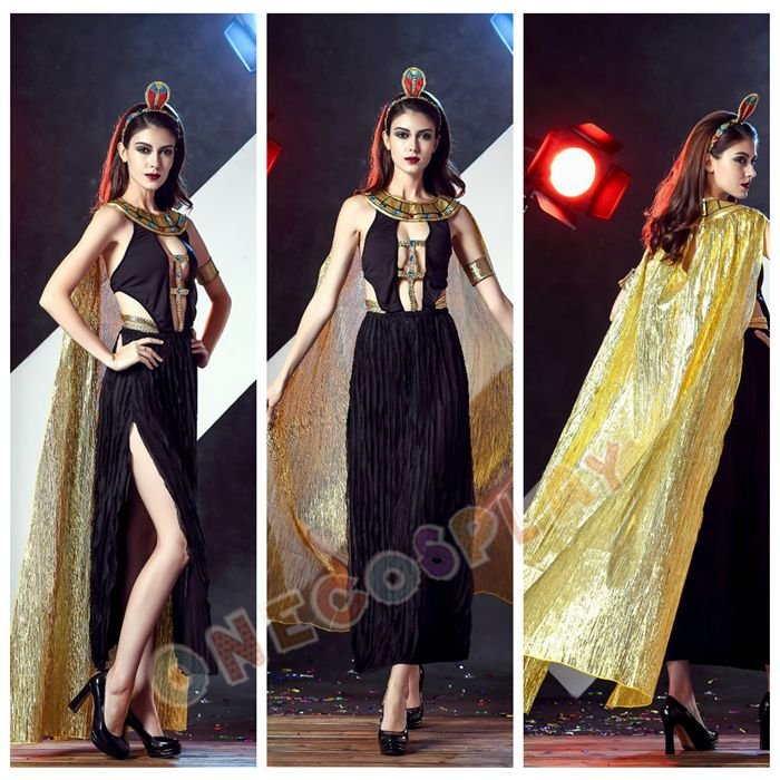 Fashion Gypsy Cosplay costumes Greek Queen Sexy Fancy party Dress Latin Dance Long Dress