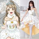 Love Live! Minami Kotori Cosplay Costume Romantic Wedding Dress Love Live Awakening Complete Uniform