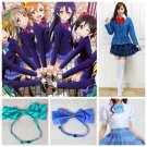 Love Live! Cosplay Costumes Kousaka Honoka Minami Kotori Ayase Eli Tojo Nozomi School Uniform