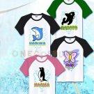 Free! Iwatobi Swim Club Cosplay Costume Nanase Haruka Tachibana Makoto Hazuki Nagisa T-shirts