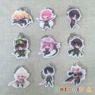 Seraph of the end Cosplay Krul Tepes Key Chains Pendants Yuichiro Hyakuya Charm Collection Keychains