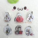 Inuyasha Cosplay Key Chains Kikyou Pendant Charm Setsushoumaru Collection Keychains for Christmas