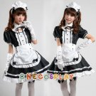 Anime Akihabara Classic Black and White Maid Cosplay Costumes Women Maid Uniform Dress