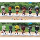 6Pcs/Set New Naruto Figure Set Figurine PVC Toy Action Figure 8cm Classic Toys