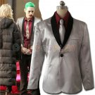 JOKER Suicide Squad Cosplay Costume Coat+Shirt+Pants Suicide Squad Joker cosplay costume