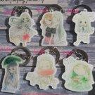 Ano Hana Cosplay Accessories Key Chains Honma Meiko Keychains Charm Pendants