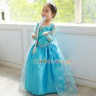 Princess Children Dress Anna Elsa Cosplay Olaf Costume Kid's Party Dress Baby Girls Clothes