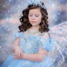 Gauze Dress Princess Formal Dresses for Kids Snow Queen Elsa Dress Children Cosplay Costume