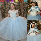 Winter Baby Princess Dresses Newest Christmas Girl Dress Anna Elsa Costumes The Snow Queen Dress