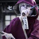 Amime Naruto Cosplay Costume Yakushi Kabuto Cosplay Cloak