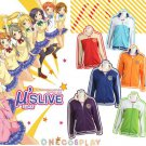 Love live! school idol project cosplay Costume Sport School Uniform Coat  Festival Cardigan Jacket