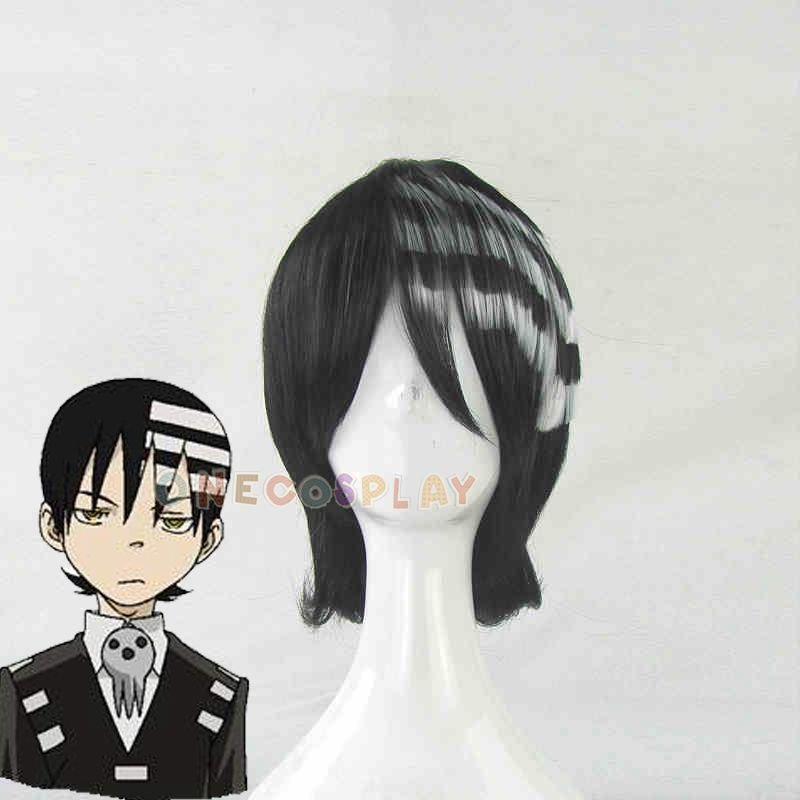 Soul Eater Cosplay Wig Death the Kid cos Wig