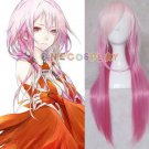 Guilty Crown Yuzuriha Inori Pink Gradient Ramp Cosplay Wig