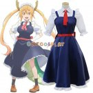 Kobayashi-san Chi no Maid Dragon Cosplay Costumes Tooru Dress Kanna Kamui Maid Clothing Full Set