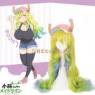 Kobayashi-san Chi no Maid Dragon Wig Lucoa Gradient Color Cosplay Wig