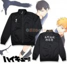 Haikyuu Cosplay Costume Winter Uniform Hinata Syouyou Coat Karasuno High School Sportswear Jacket