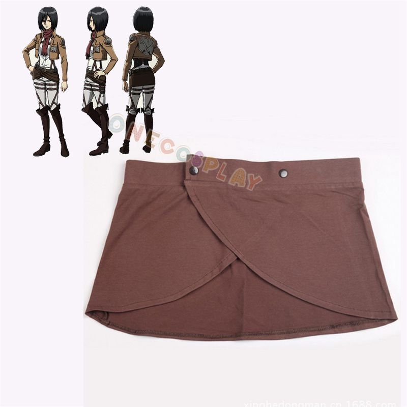 Attack on Titan Cosplay Costumes Shingeki no Kyojin Cotton Elastic Skirt Apron Hookshot Costumes