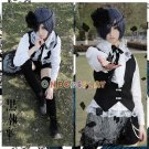 Black Butler Ciel Phantomhive Black Version Cosplay Costume