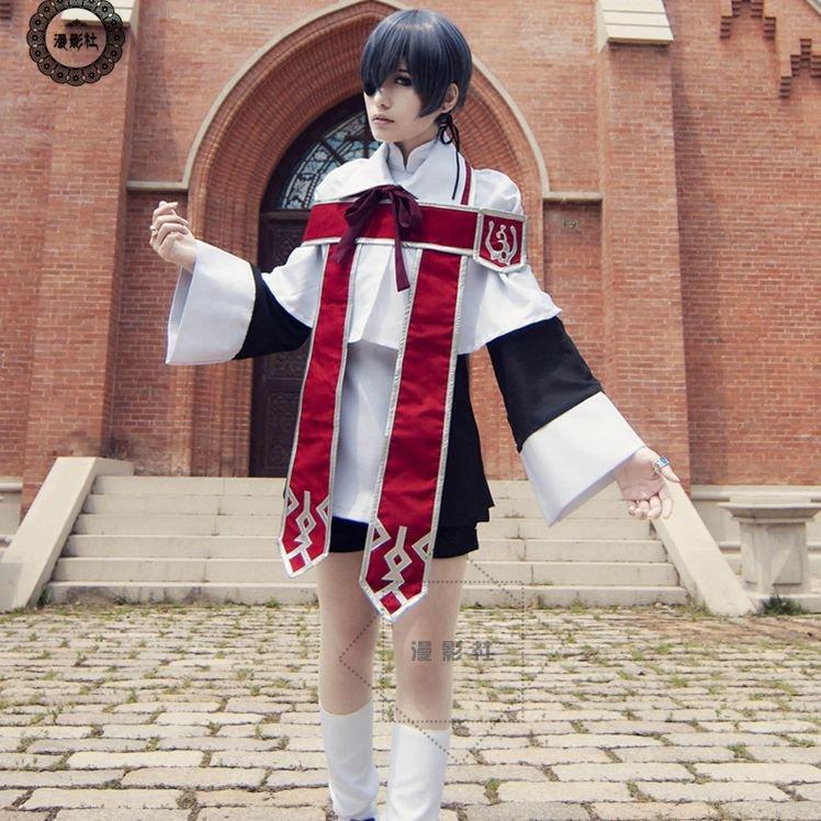 Choir Boy Ciel Cosplay Cotumes Black Butler Heaven's Choir Ciel Phantomhive Cosplay Clothes