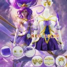 LOL The Lady Of Luminosity Lux Cosplay Costumes Janna Puella Magi Madoka Magica Fancy Outfit set