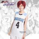 Kuroko no Basuke RAKUZAN Basketball School Uniform Cosplay Costume Akashi Jersey