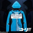 YURI!!! on ICE Cosplay Coat Katsuki Yuri Sport Suit Fancy Hoody Jackets Hoodies