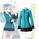 Eromanga Sensei Cosplay Costumes Sagiri Izumi Coat with hat Women Outfits Jacket