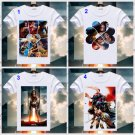 Wonder Woman T Shirt Gal Gadot Print Short Sleeve T-shirts DC Comics Superhero Tops Summer Tees