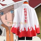New Arrival Naruto Cosplay Costumes Seventh Hokage Cloak Naruto Uzumaki Cape Outfit