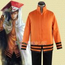 New Arrival Naruto Cosplay Costumes 7th Hokage Sweatshirts Outfit Men Hooded Coat