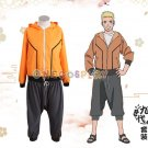 Uzumaki Naruto 9th Cosplay Costumes BORUTO -NARUTO THE MOVIE Cos Clothes Halloween Ninja Clothes