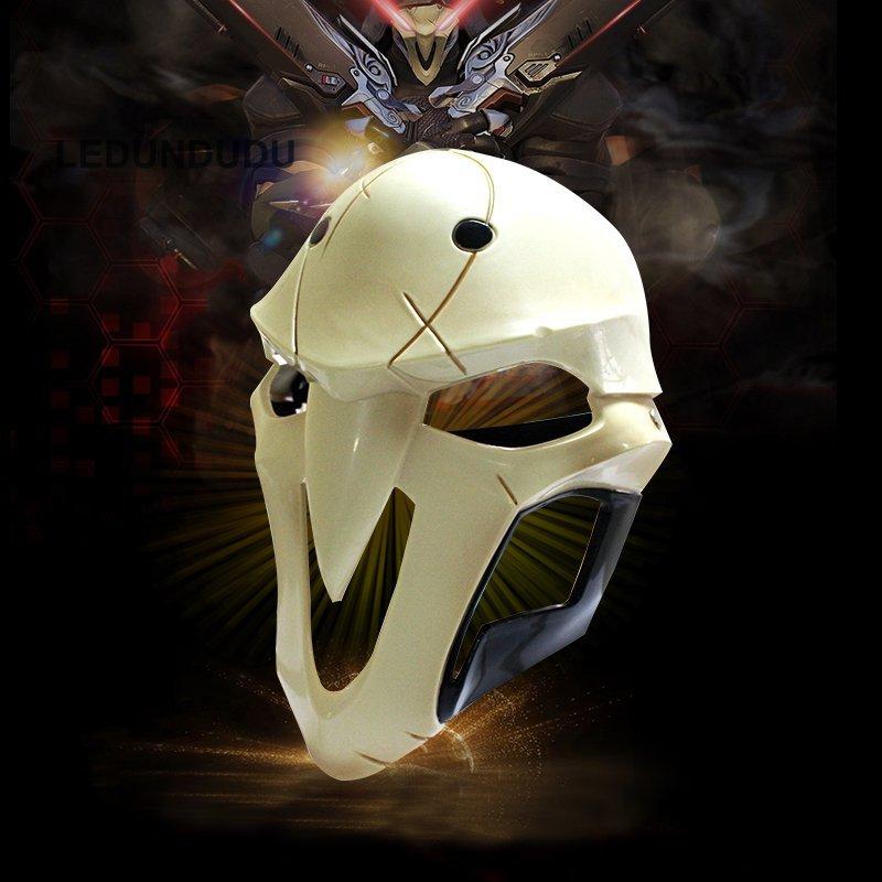 Game D.va Cosplay Costumes Reaper Gabriel Reyes Cosplay Mask Resin Halloween Bleach Skull Mask