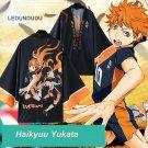 Haikyuu Chiffon Cloaks Karasuno High School Volleyball Club Hinata Shyouyou Yukata Kimono Bathrobes