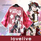 Love Live Bathrobes Chiffon Cloaks Nico Yazawa Ayase Eli Yukata Coat Lovelive! Kousaka Honoka Tops
