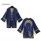 Touken Ranbu Online Bathrobes Chiffon Pajamas Cloaks Mikazuki Munechika Cosplay Costumes Yukata Coat