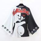 Danganronpa Bathrobes Monokuma Chiffon Yukata Pajamas Cloaks Dangan ronpa Coat