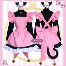 Card Captor Sakura Cosplay Costumes Cat Cute Cardcaptor Sakura Women Lolita Maid Dress